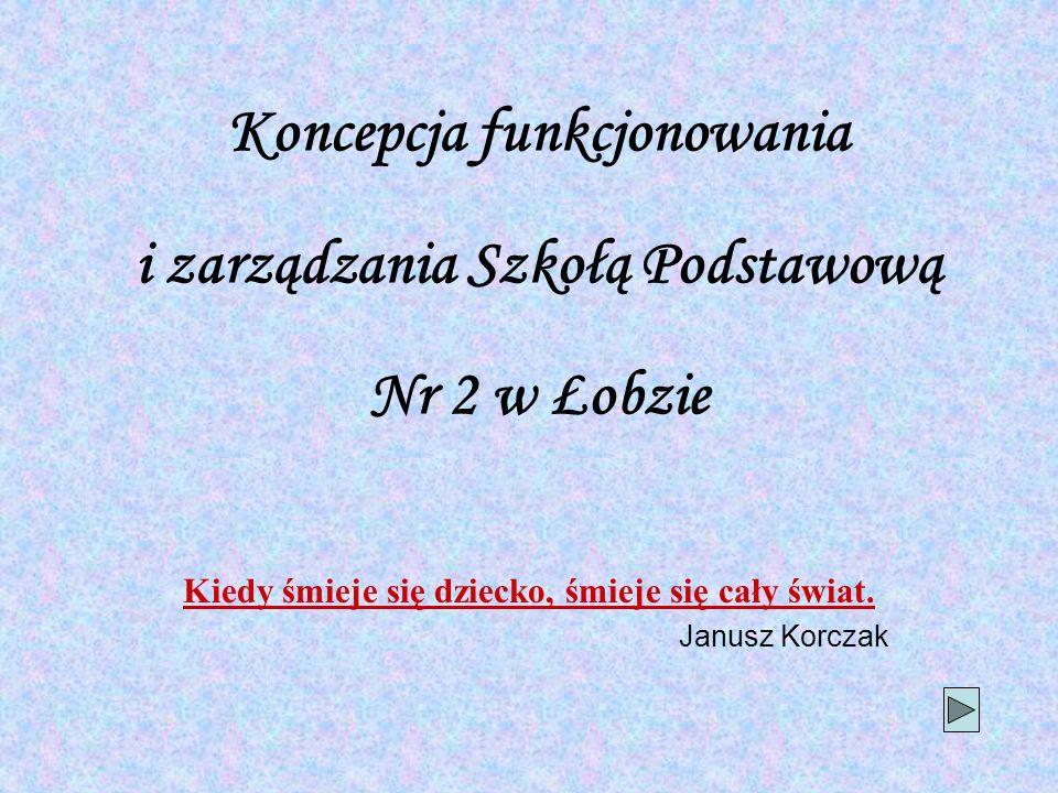 Koncepcja funkcjonowania i zarządzania Szkołą Podstawową Nr 2 w Łobzie