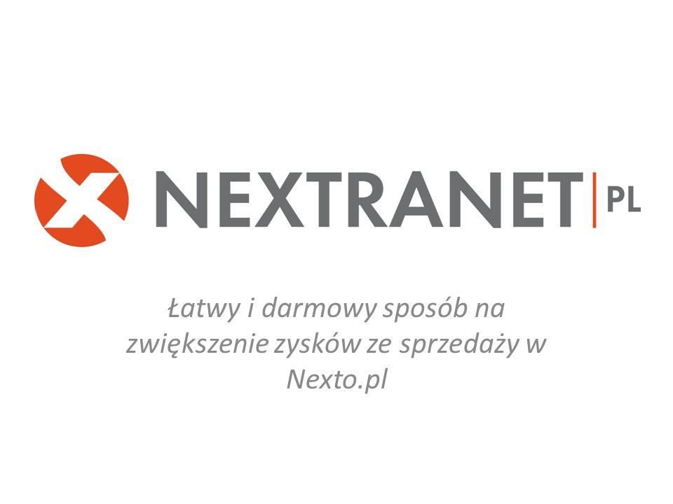 Łatwy i darmowy sposób na zwiększenie zysków ze sprzedaży w Nexto.pl
