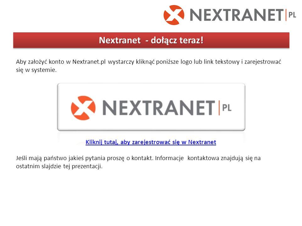 Nextranet - dołącz teraz!