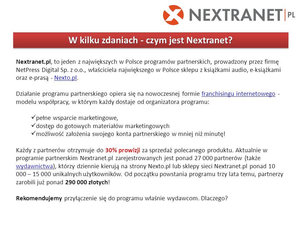 W kilku zdaniach - czym jest Nextranet
