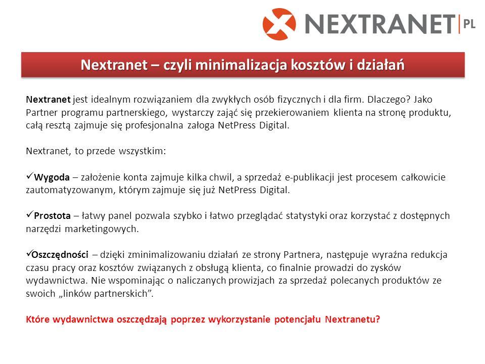 Nextranet – czyli minimalizacja kosztów i działań