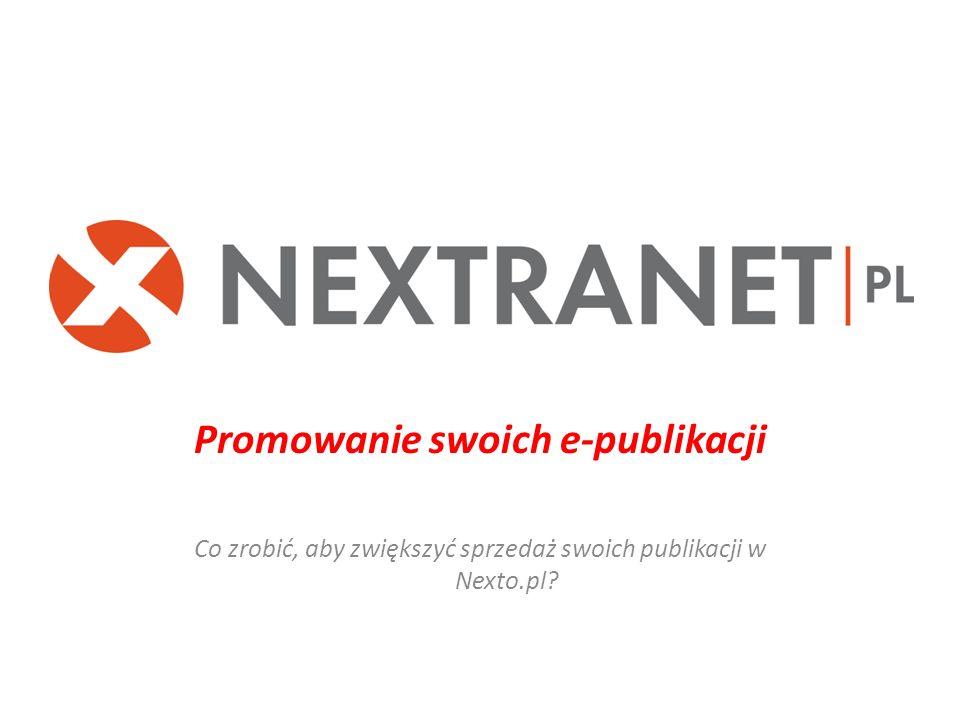 Promowanie swoich e-publikacji