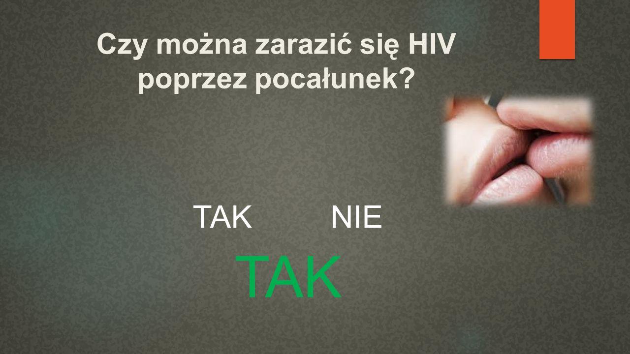 Czy można zarazić się HIV poprzez pocałunek