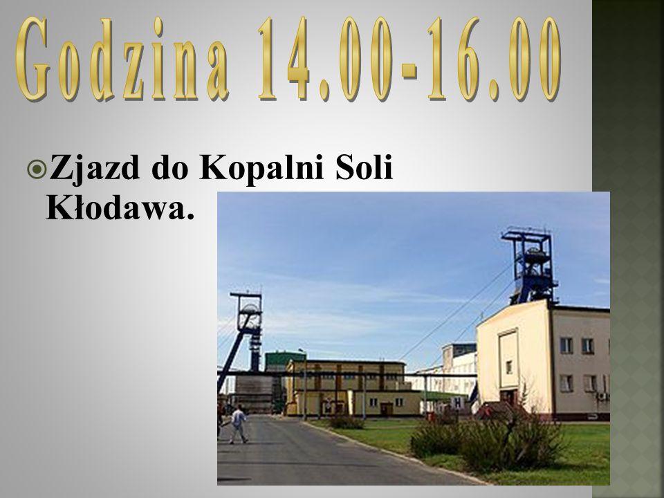 Zjazd do Kopalni Soli Kłodawa.