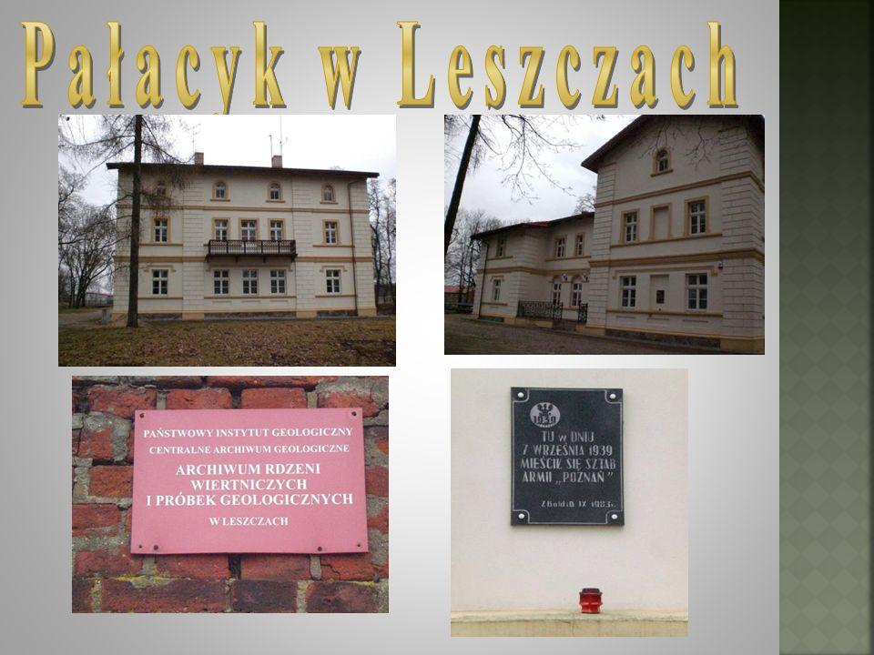Pałacyk w Leszczach