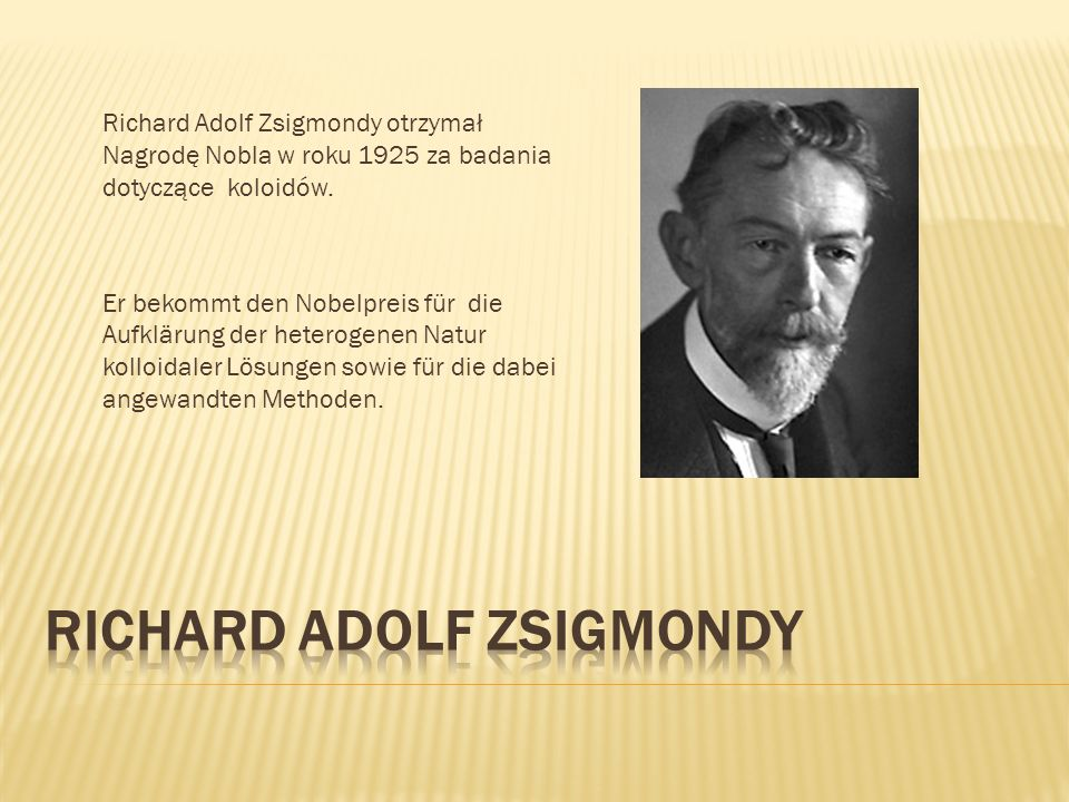Richard Adolf Zsigmondy