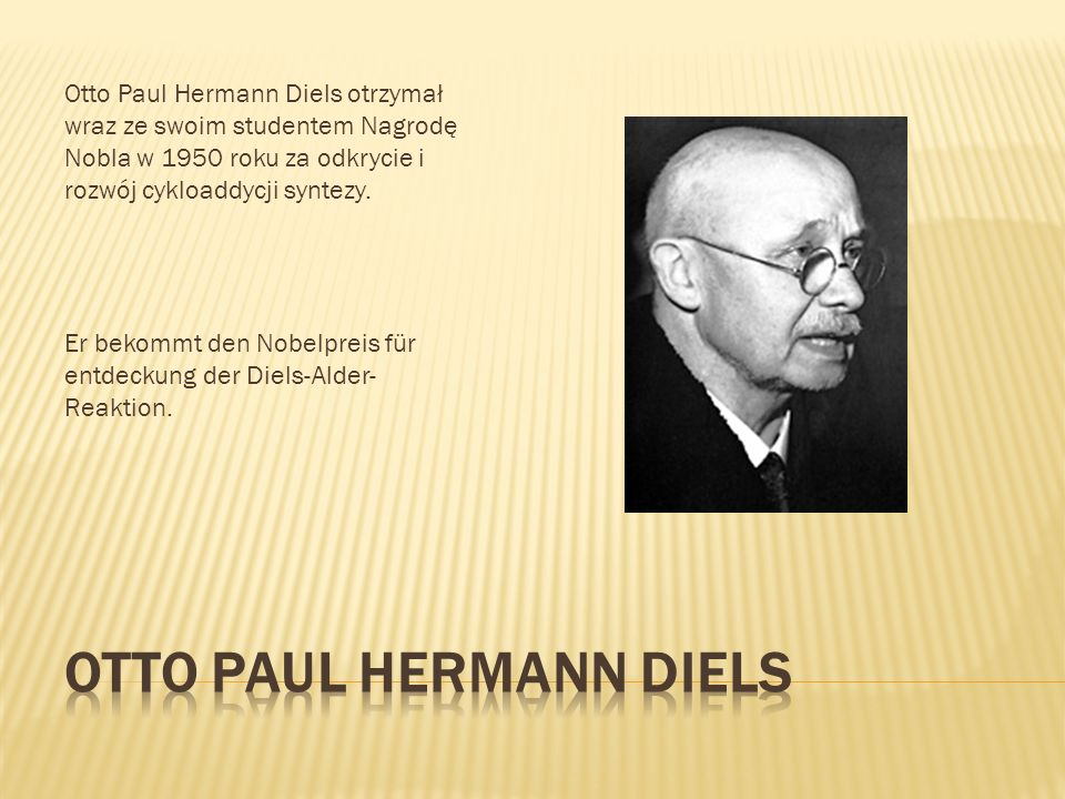 Otto Paul Hermann DIELS