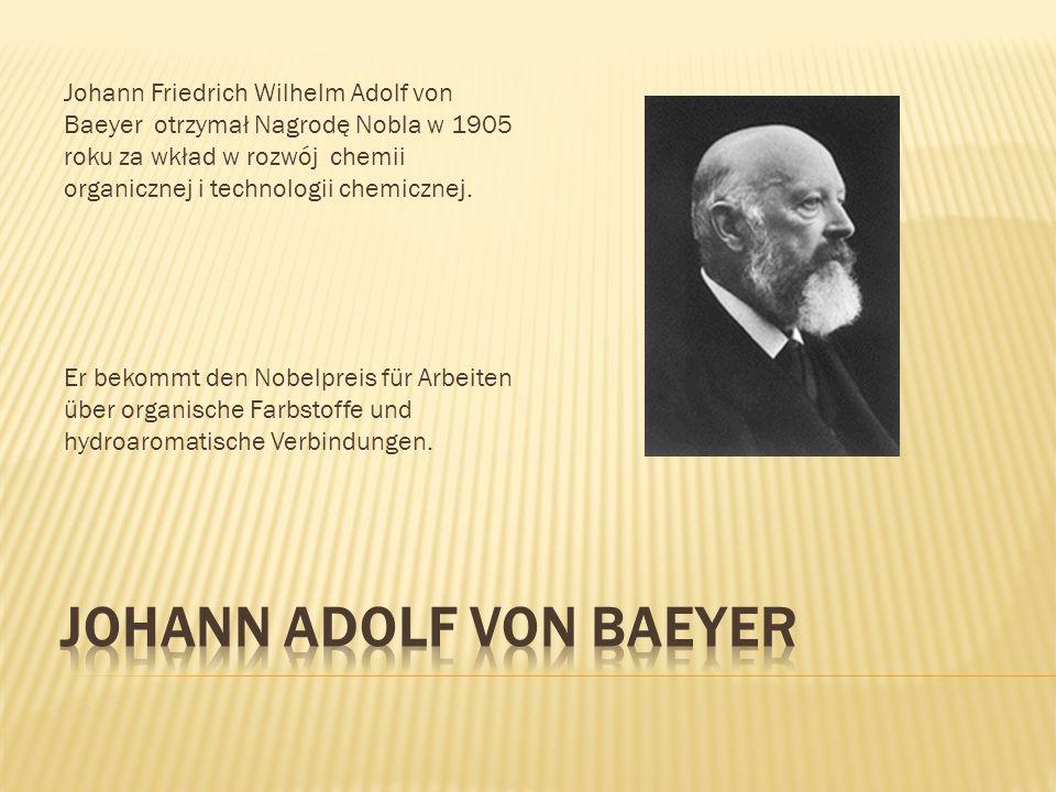 Johann Adolf von Baeyer