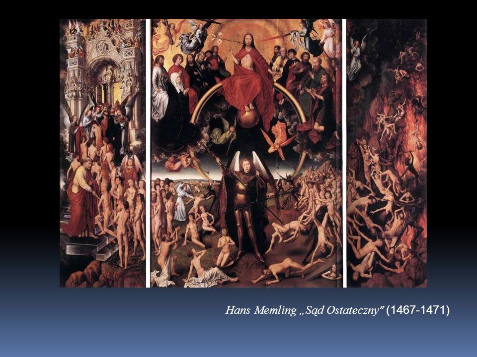 "Hans Memling ""Sąd Ostateczny (1467-1471)"