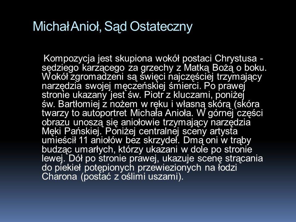 Michał Anioł, Sąd Ostateczny