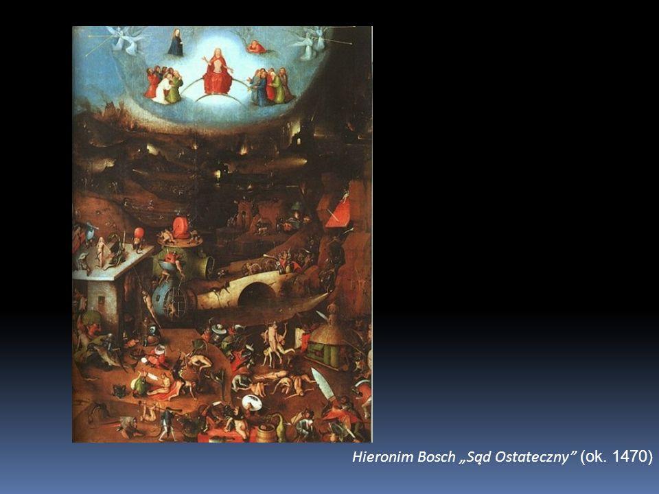 """Hieronim Bosch """"Sąd Ostateczny (ok. 1470)"""