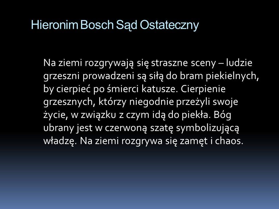 Hieronim Bosch Sąd Ostateczny