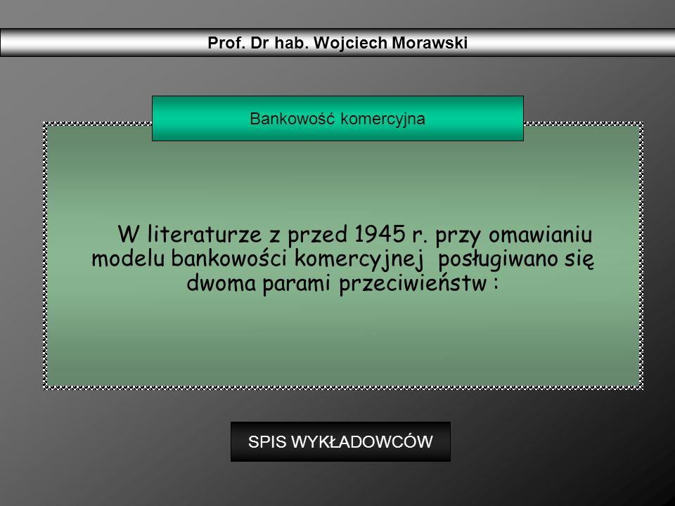 Prof. Dr hab. Wojciech Morawski