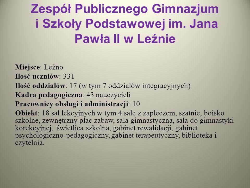 Zespół Publicznego Gimnazjum i Szkoły Podstawowej im