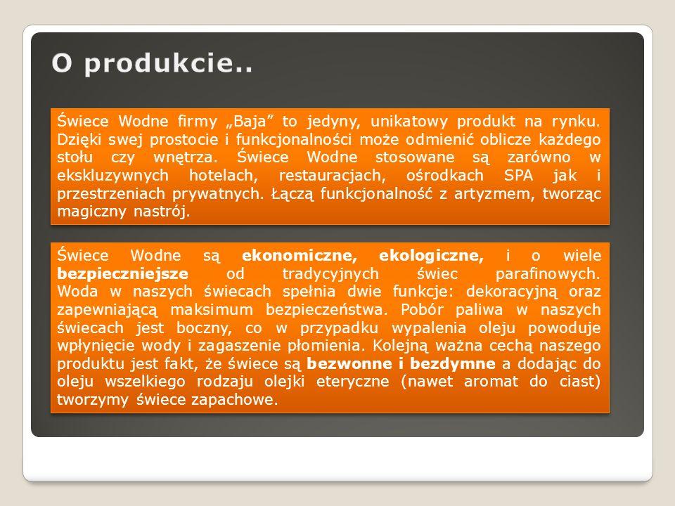 O produkcie..