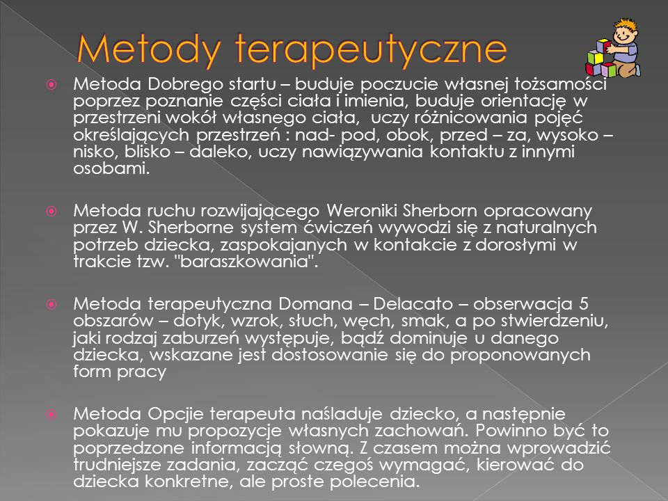 Metody terapeutyczne