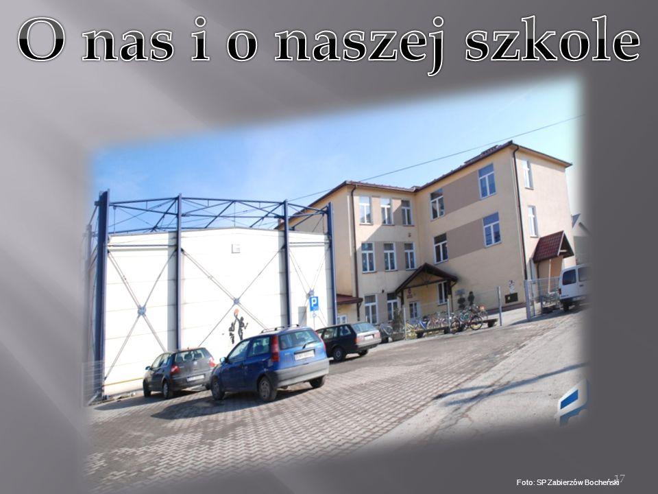 O nas i o naszej szkole Foto: SP Zabierzów Bocheński