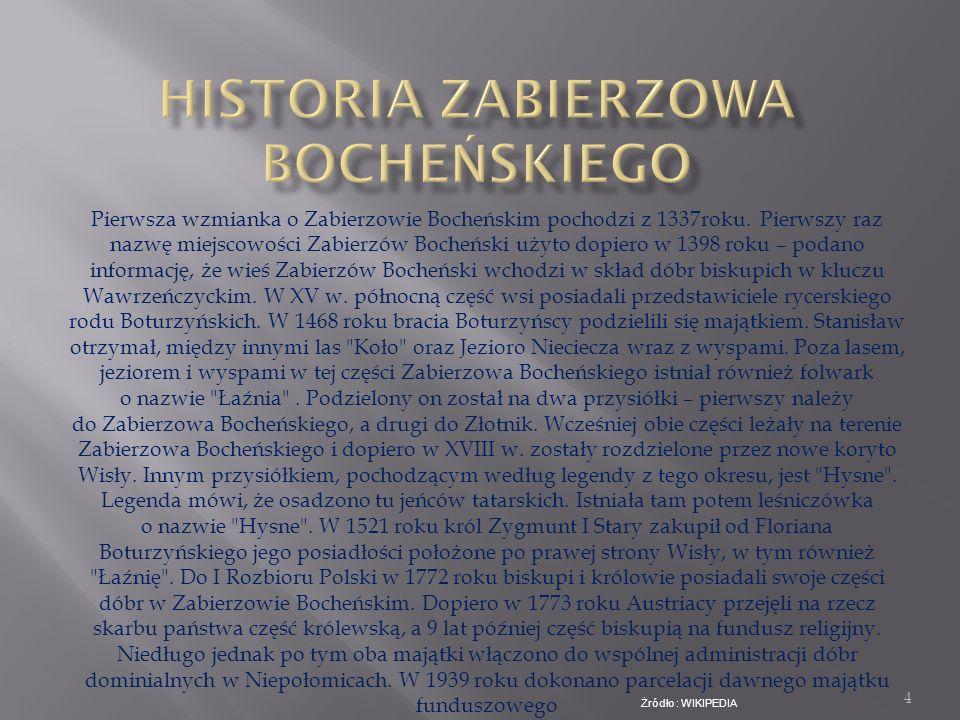 Historia Zabierzowa Bocheńskiego