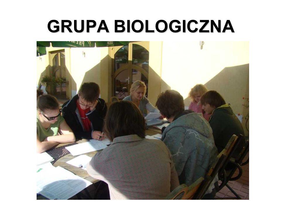 GRUPA BIOLOGICZNA