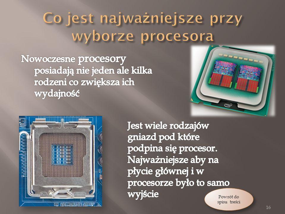 Co jest najważniejsze przy wyborze procesora