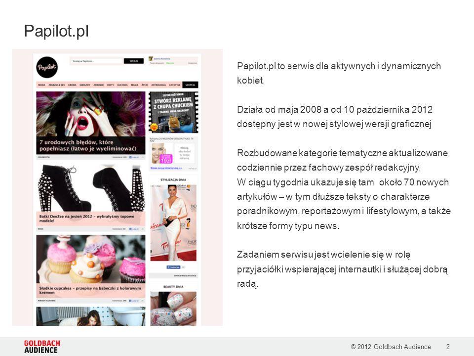 Papilot.pl Papilot.pl to serwis dla aktywnych i dynamicznych kobiet.