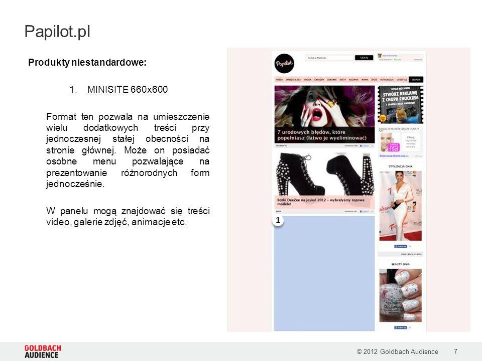 Papilot.pl Produkty niestandardowe: MINISITE 660x600