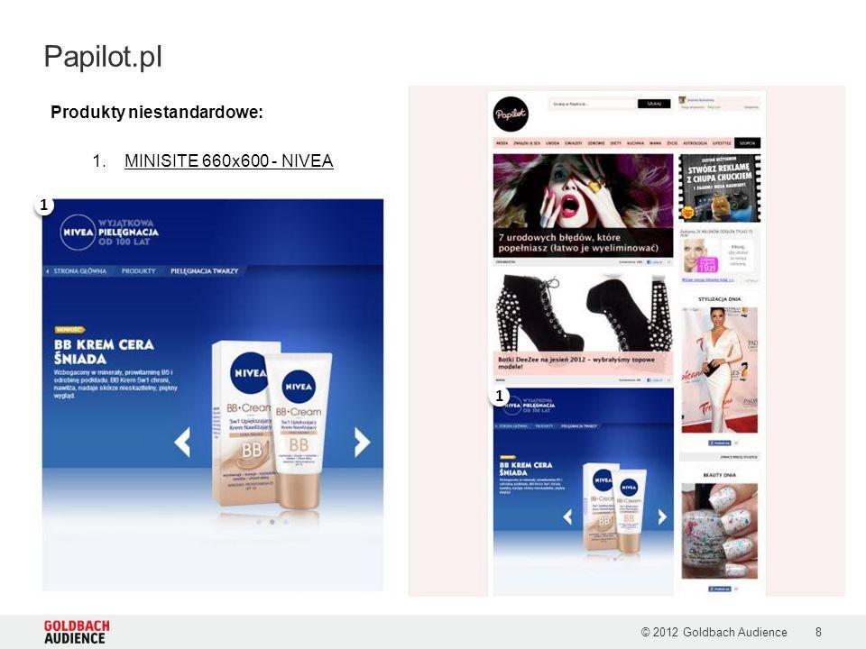 Papilot.pl Produkty niestandardowe: MINISITE 660x600 - NIVEA 1 1