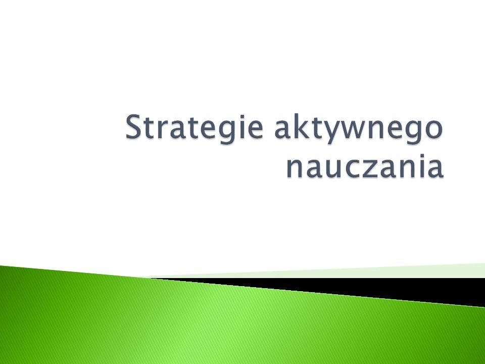 Strategie aktywnego nauczania