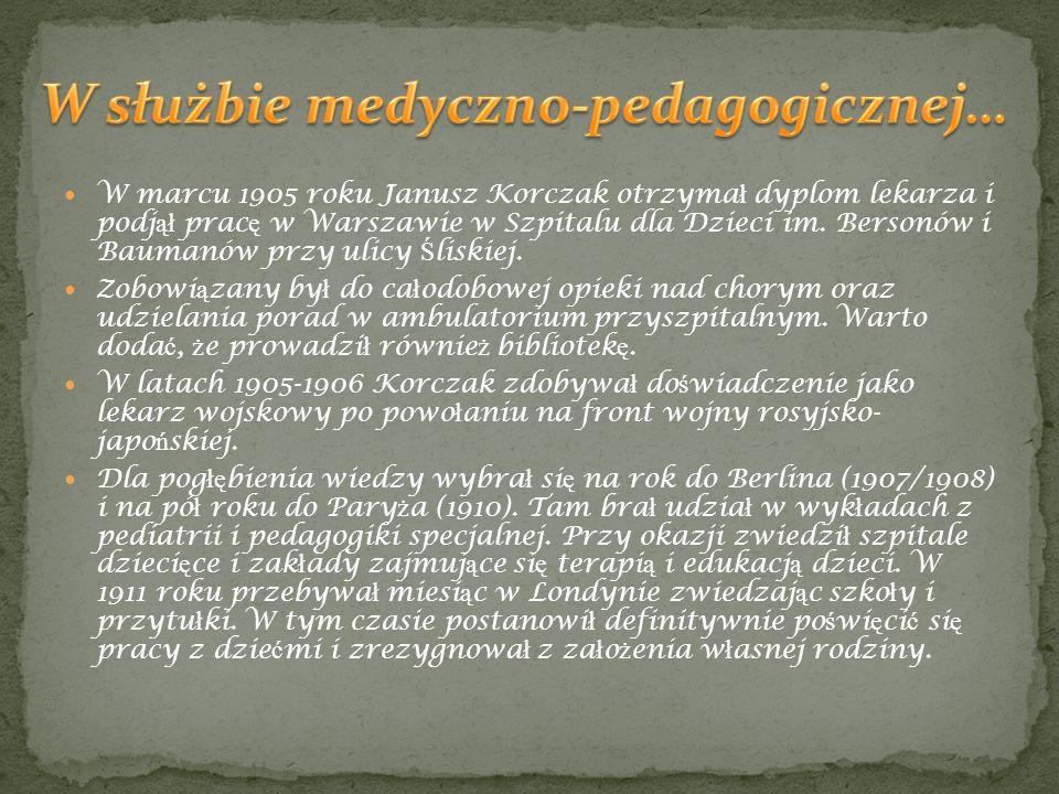 W służbie medyczno-pedagogicznej…