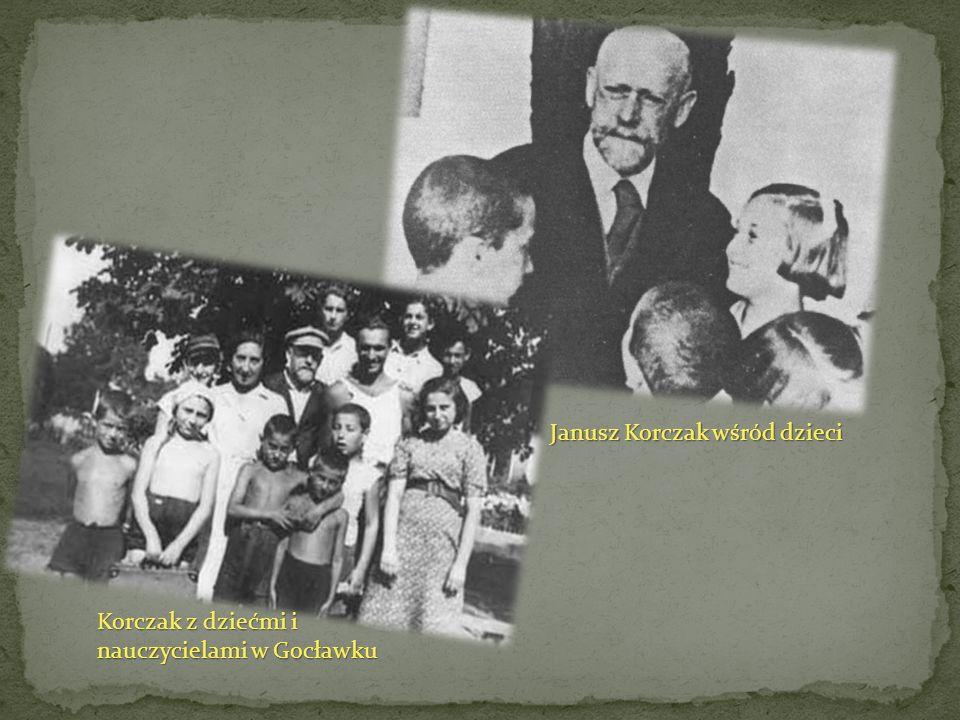 Janusz Korczak wśród dzieci