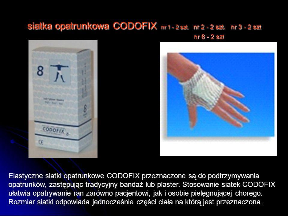 siatka opatrunkowa CODOFIX nr 1 - 2 szt. nr 2 - 2 szt