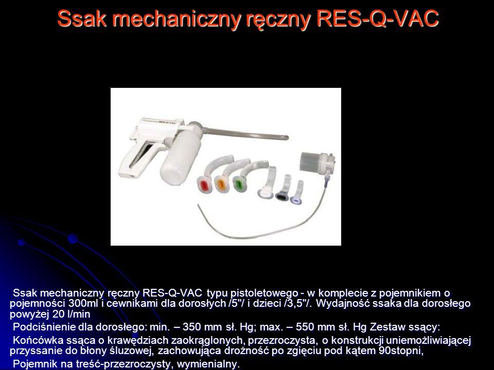 Ssak mechaniczny ręczny RES-Q-VAC