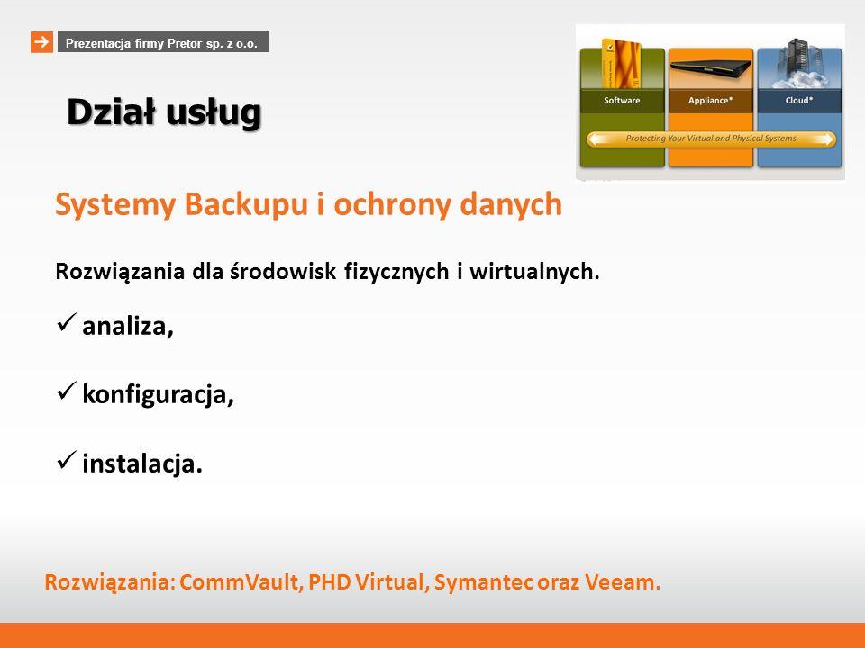 Systemy Backupu i ochrony danych