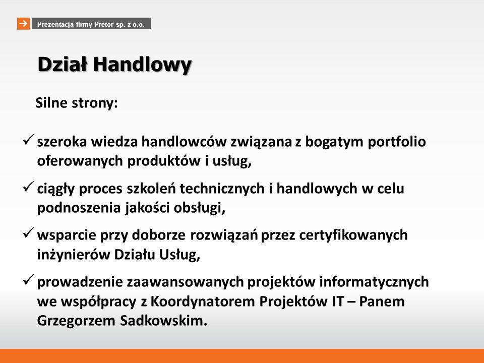 Prezentacja firmy Pretor sp. z o.o.