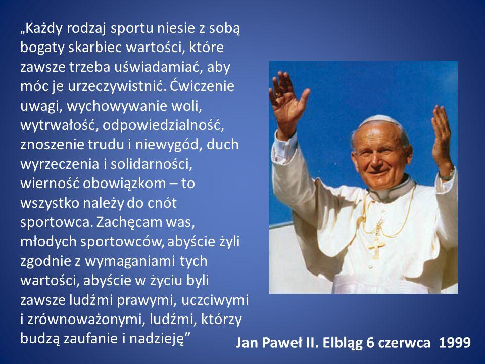 Jan Paweł II. Elbląg 6 czerwca 1999