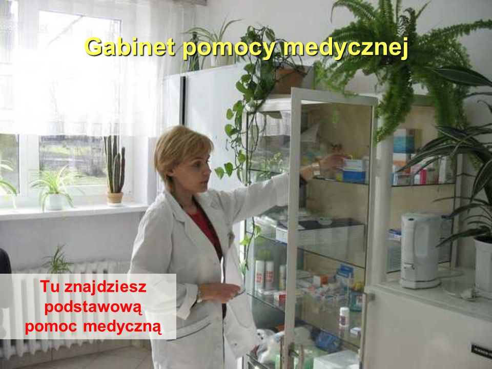 Gabinet pomocy medycznej