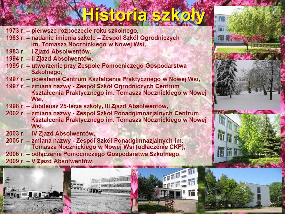 Historia szkoły 1973 r. – pierwsze rozpoczęcie roku szkolnego,