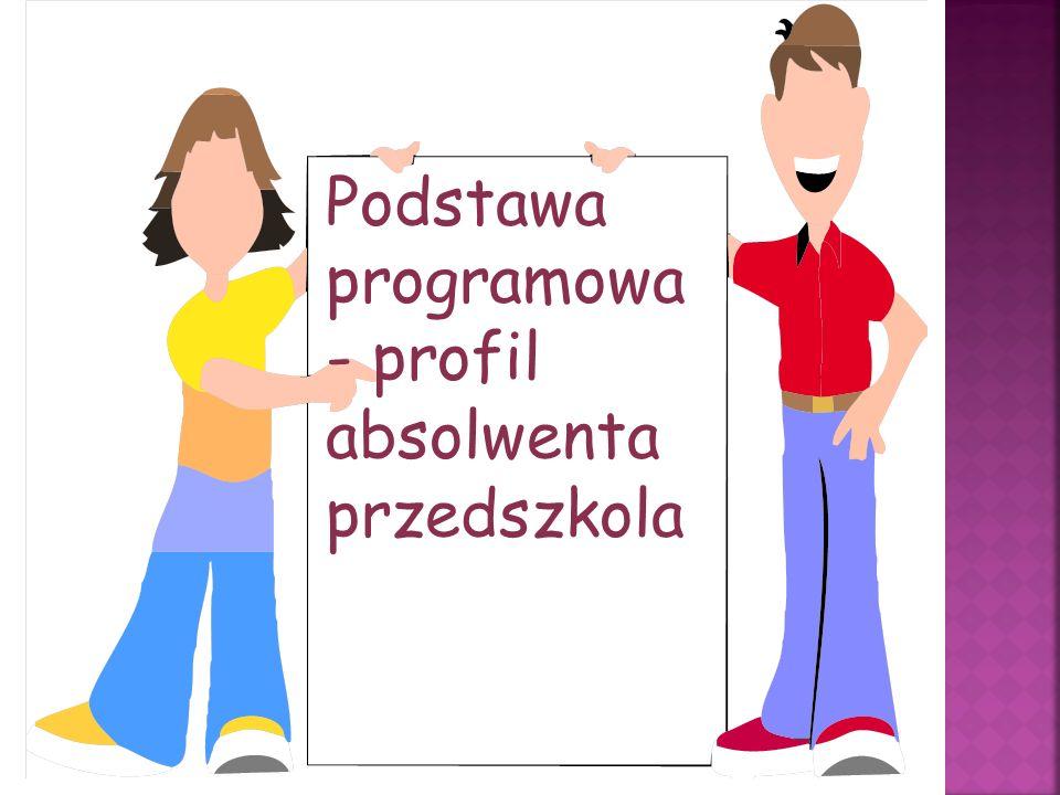 Podstawa programowa- profil absolwenta przedszkola