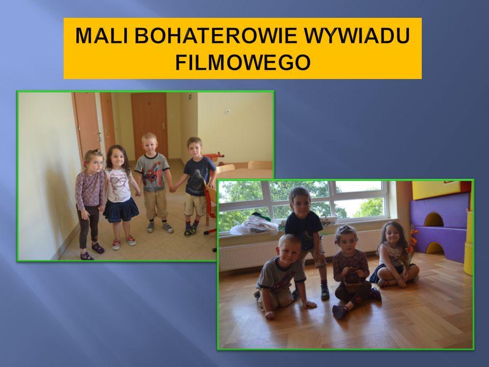 MALI BOHATEROWIE WYWIADU FILMOWEGO