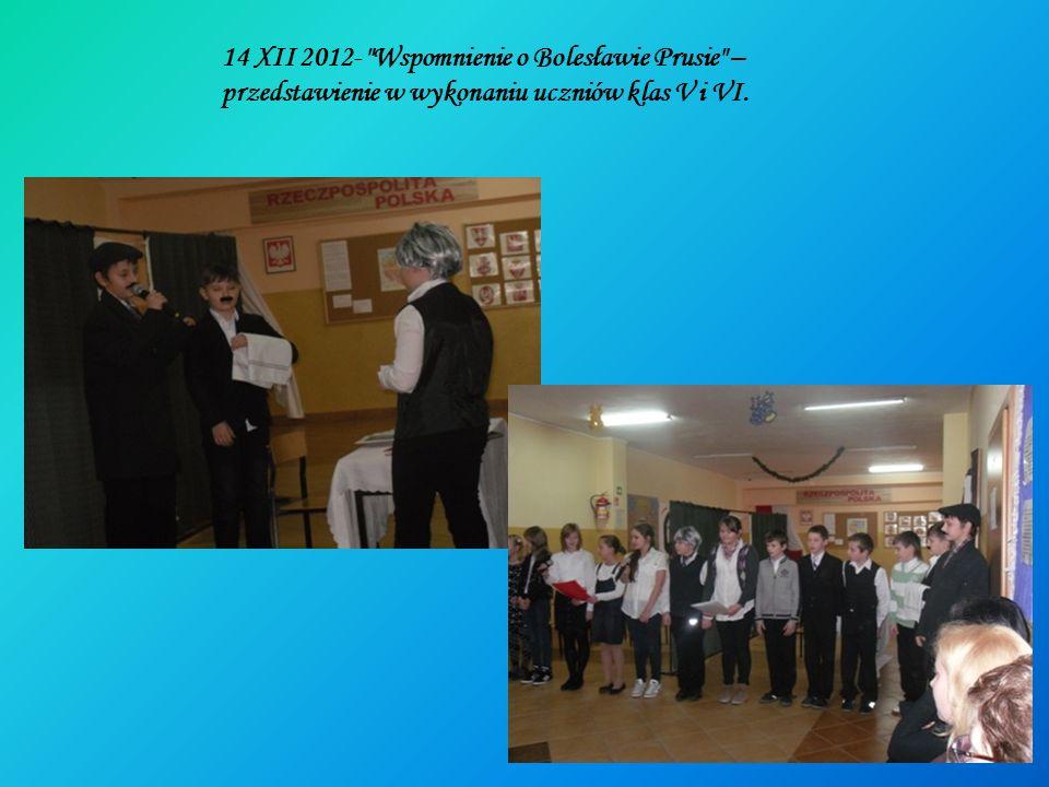 14 XII 2012- Wspomnienie o Bolesławie Prusie –