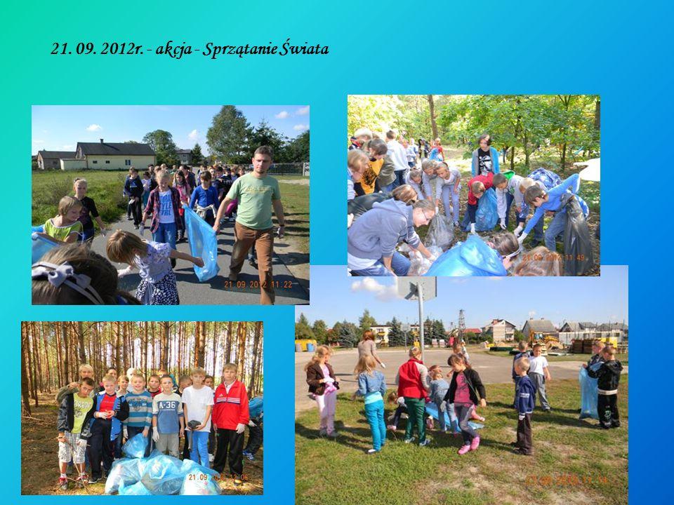 21. 09. 2012r. - akcja - Sprzątanie Świata