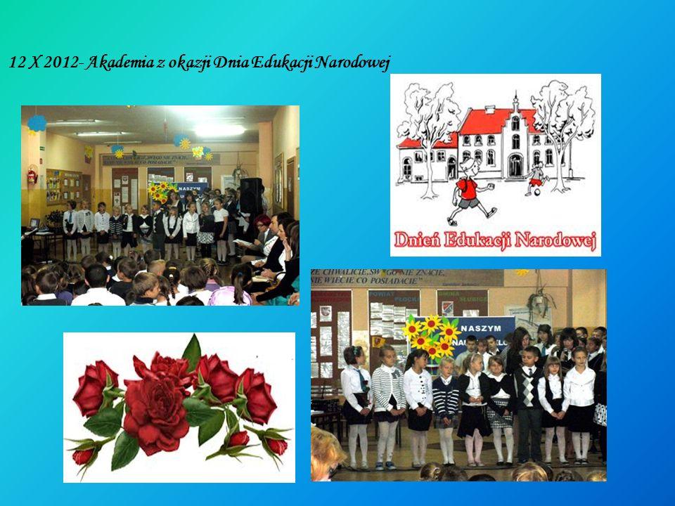 12 X 2012- Akademia z okazji Dnia Edukacji Narodowej