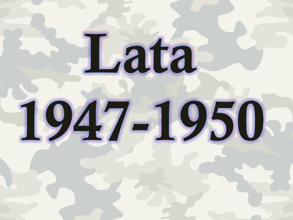 Lata 1947-1950