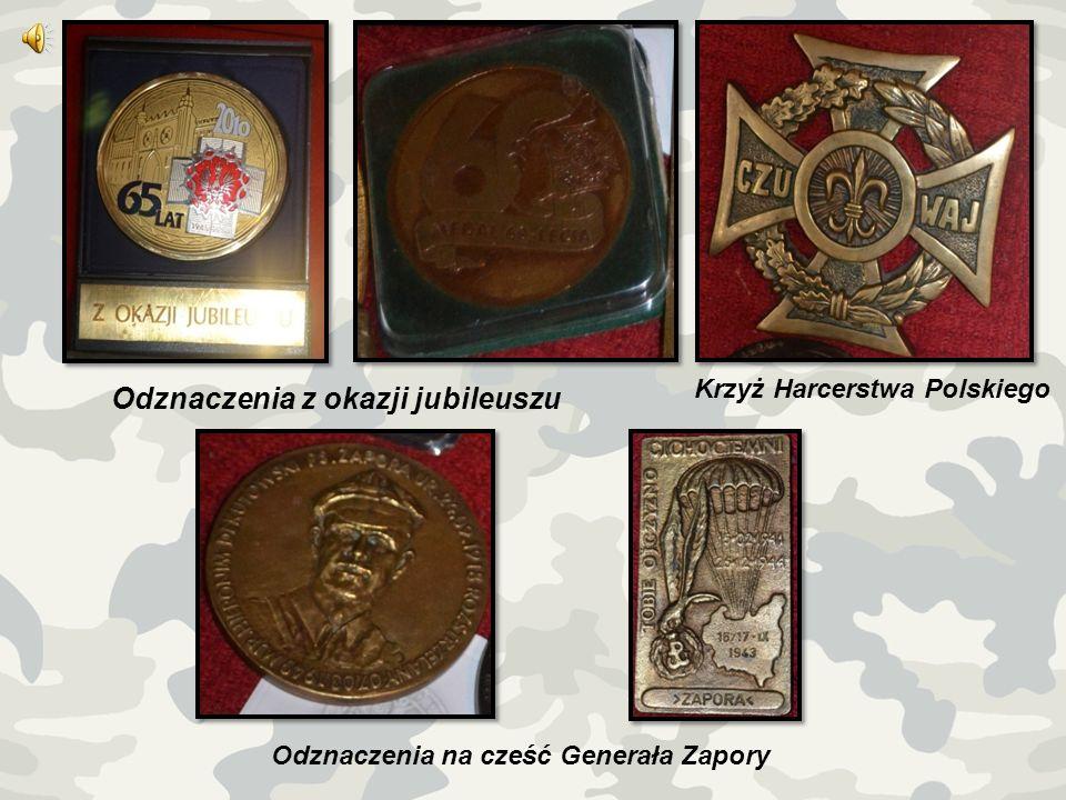 Odznaczenia na cześć Generała Zapory