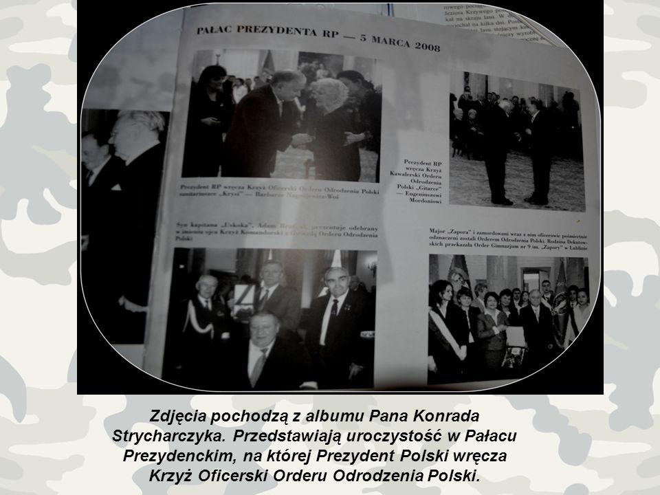 Zdjęcia pochodzą z albumu Pana Konrada Strycharczyka