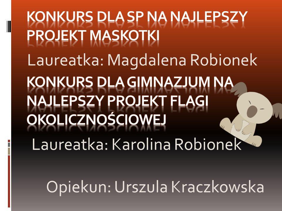 Konkurs dla SP na najlepszy projekt Maskotki