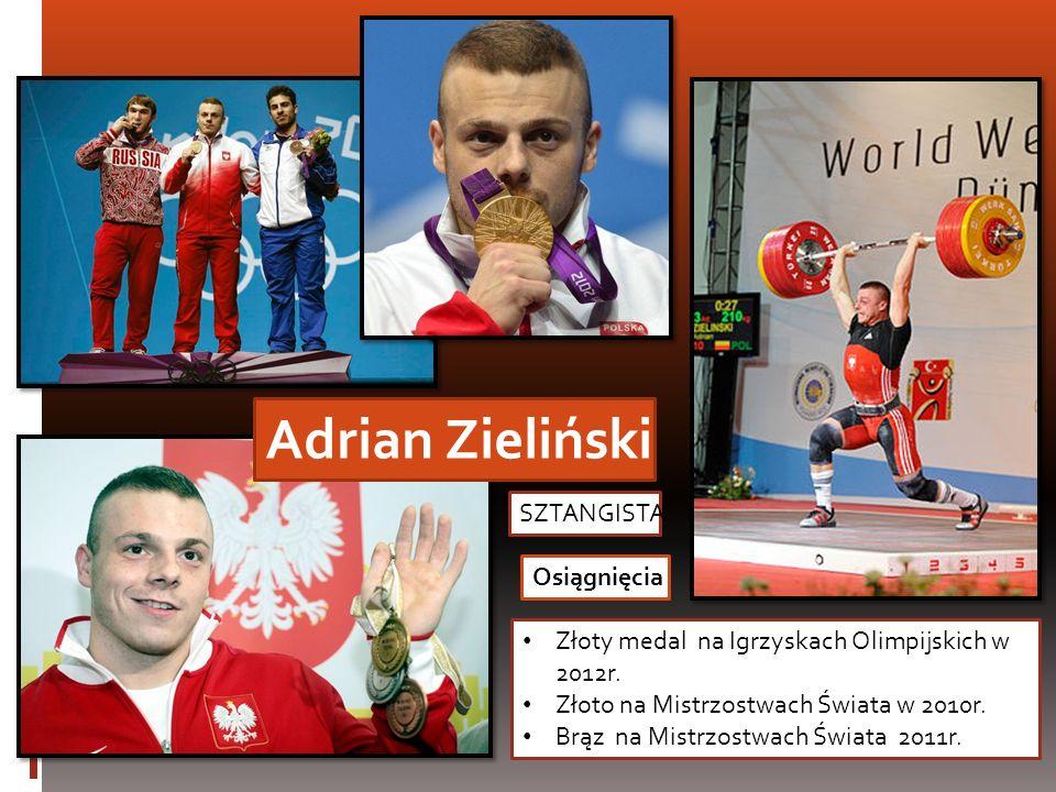 Adrian Zieliński SZTANGISTA Osiągnięcia