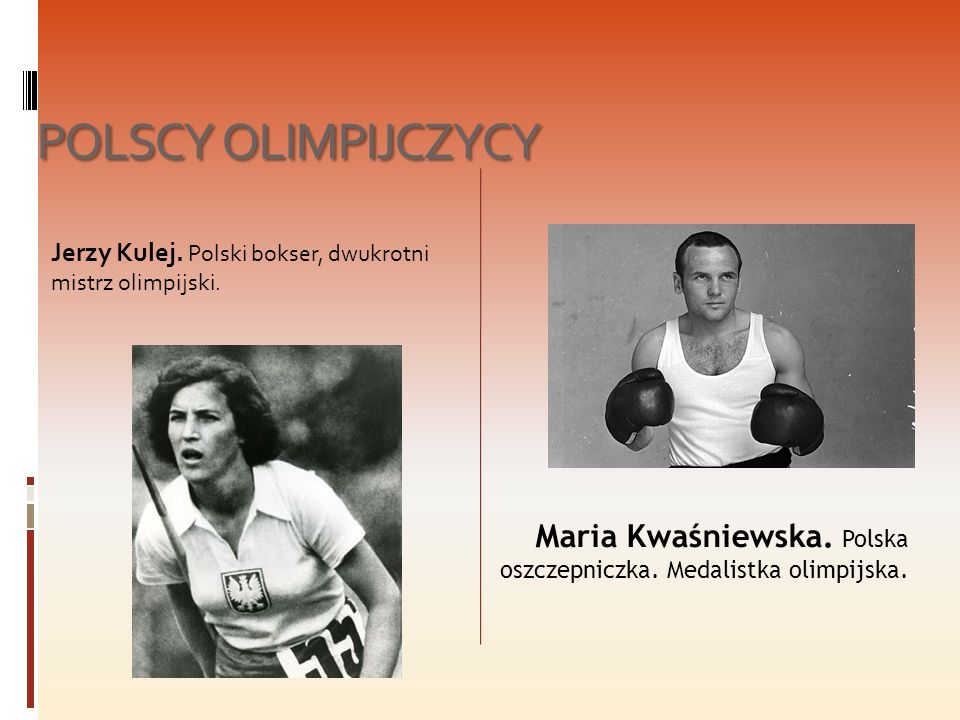 POLSCY OLIMPIJCZYCY Jerzy Kulej. Polski bokser, dwukrotni mistrz olimpijski.
