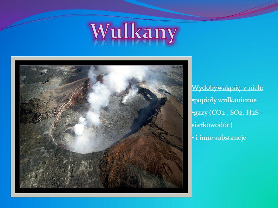 Wulkany Wydobywają się z nich: popioły wulkaniczne