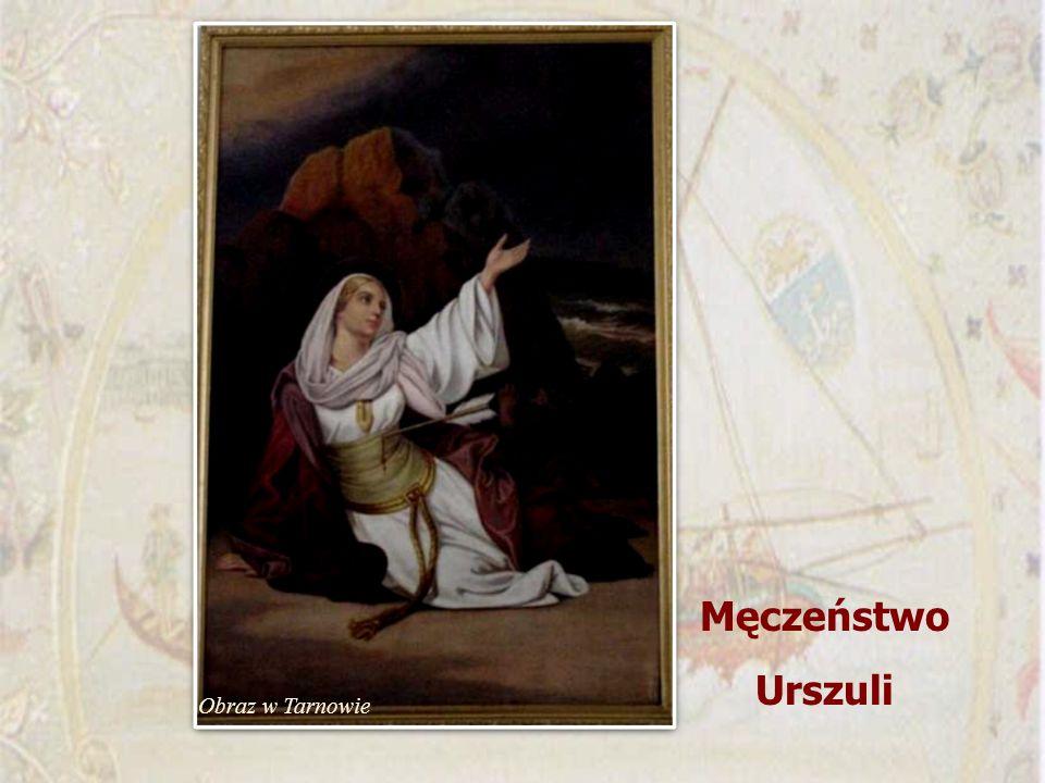 Męczeństwo Urszuli Obraz w Tarnowie